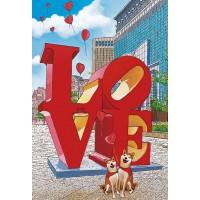 KS3-003 300片夜光拼圖 林宗範系列-Forever Love