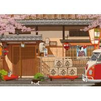 25-043 520片拼圖 林宗範系列-花開富貴 喜迎春