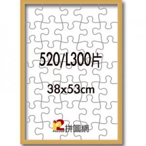 ALF-010 金色520/L300片鋁框