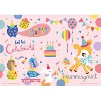 HP0200-026 Hummingmint 生日派對拼圖200片