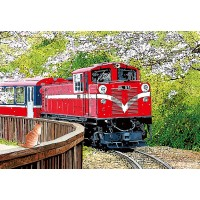 S108-006 林宗範 鐵道系列-迎接春的到來  S108片拼圖